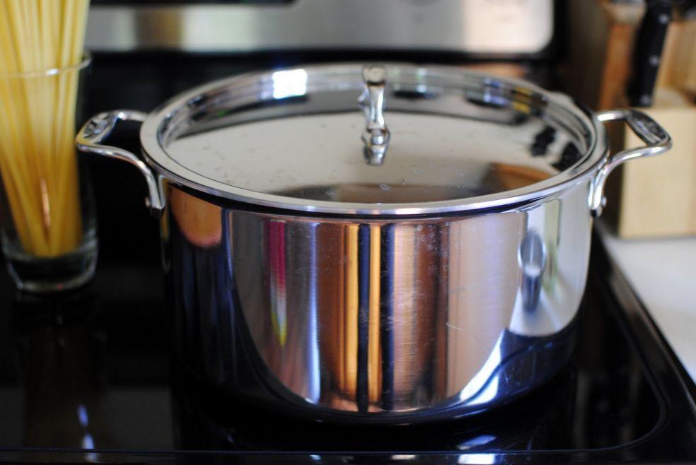 Спагетти с тунцом фото-рецепт