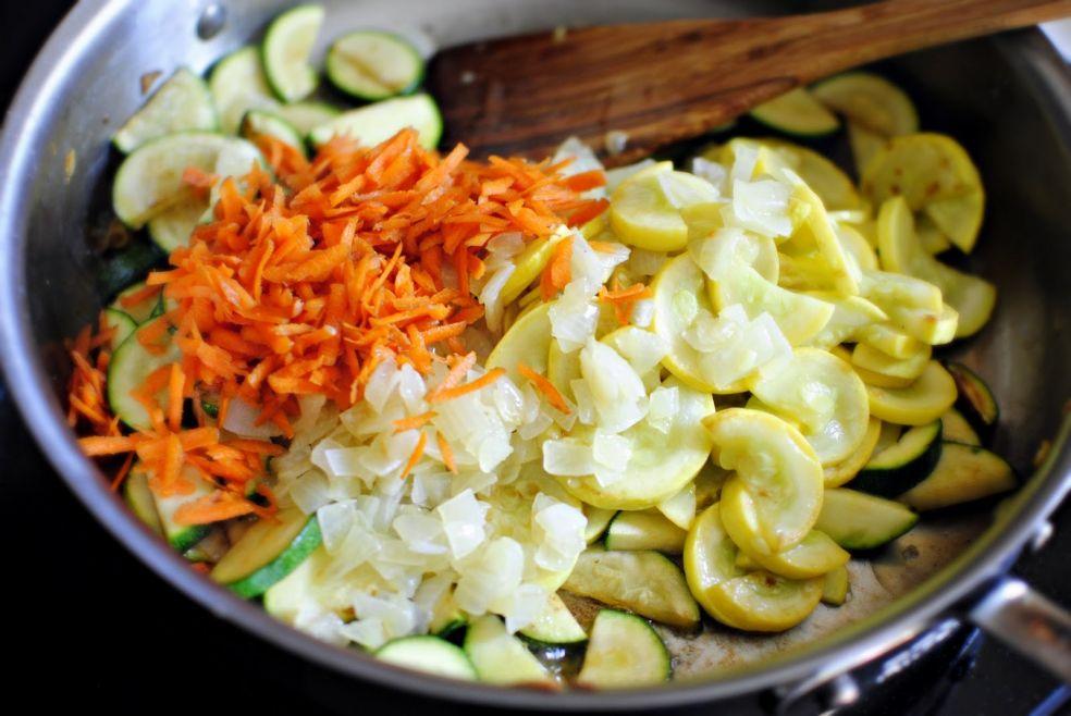 Овощное рагу фото-рецепт