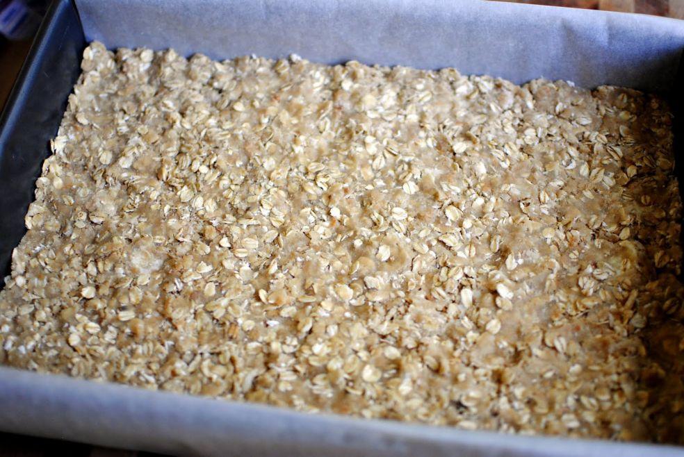 Запеканка из овсянки и кокоса с малиной фото-рецепт