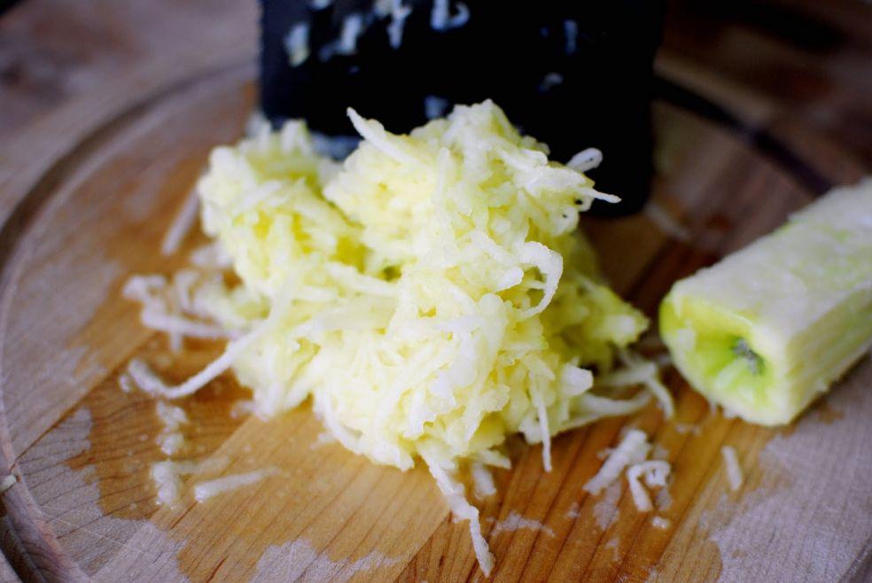 Яблочные лепешки фото-рецепт