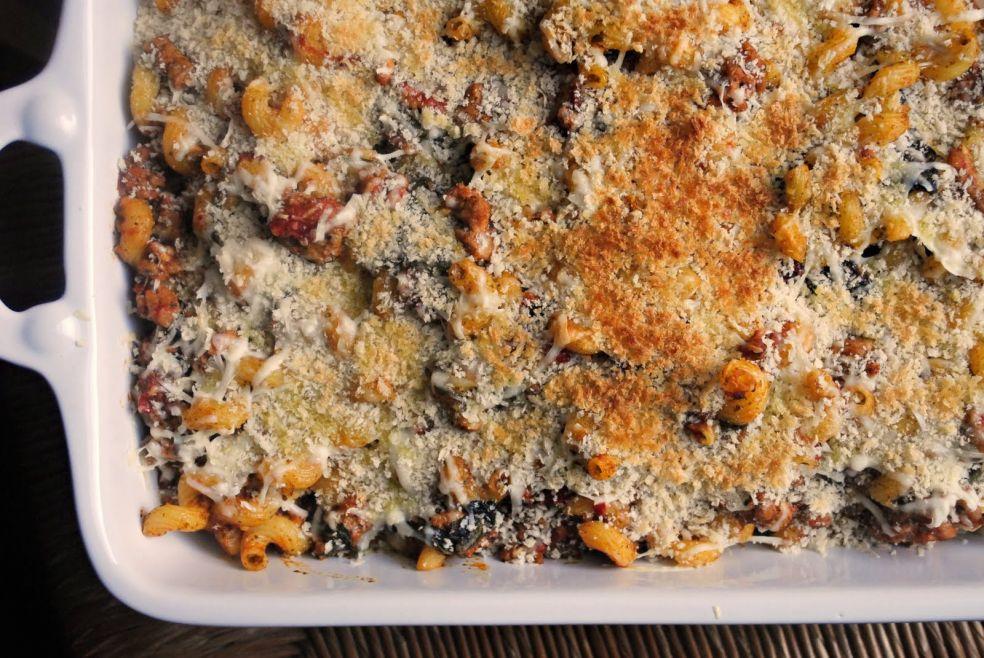 Макароны запеченные по-итальянски фото-рецепт