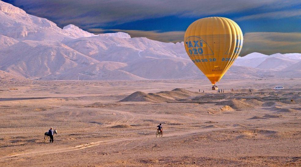 Воздушный шар - такси