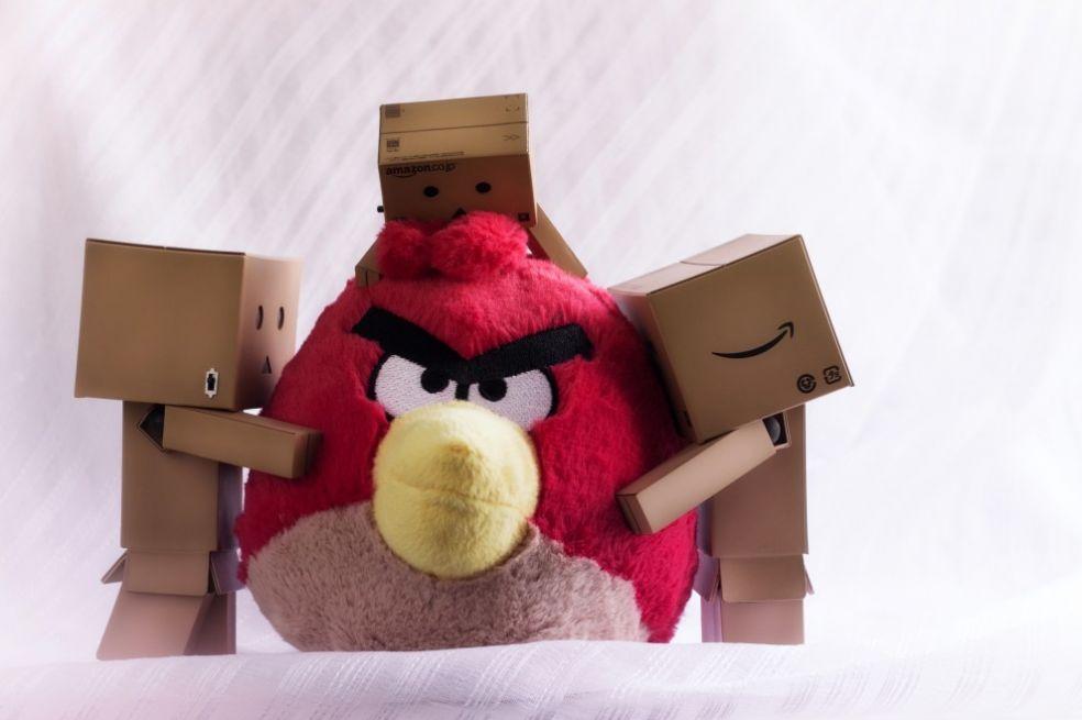 Angry Birds любят многие