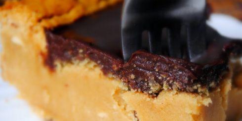Пирог с шоколадной помадкой