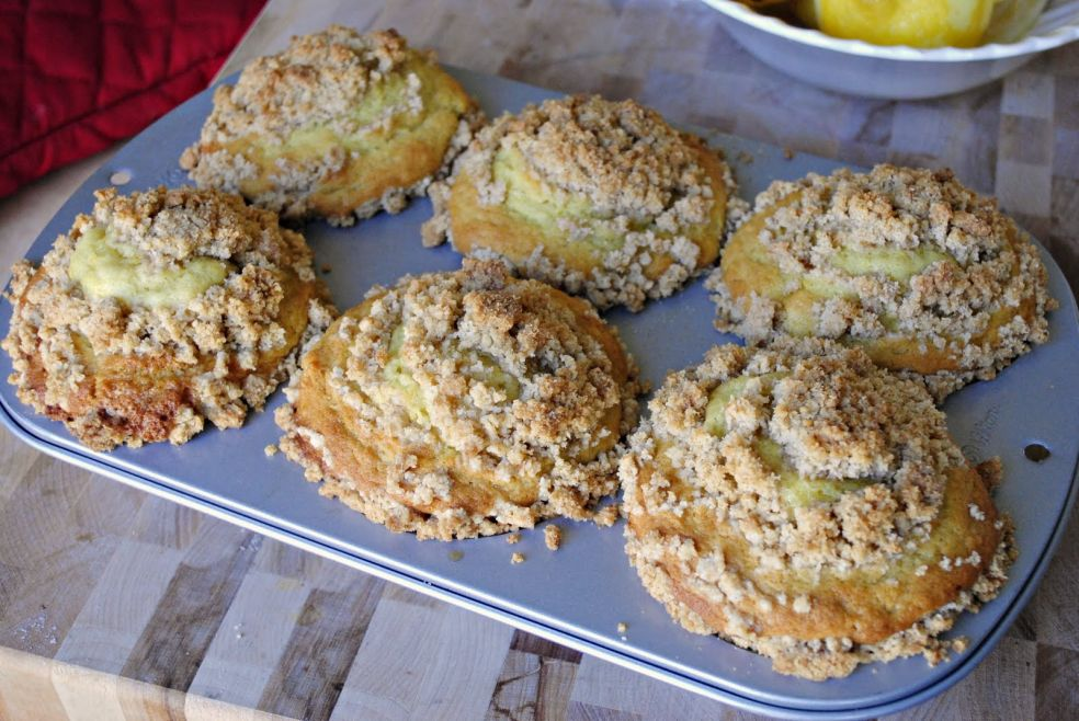 Лимонные кексы фото-рецепт