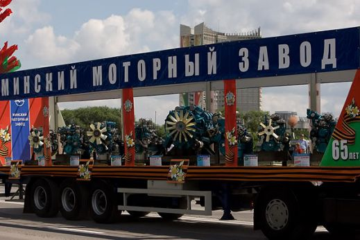 Минск — парад День независимости