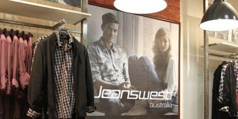 Jeanswest открыли новый магазин при участии Steel Design