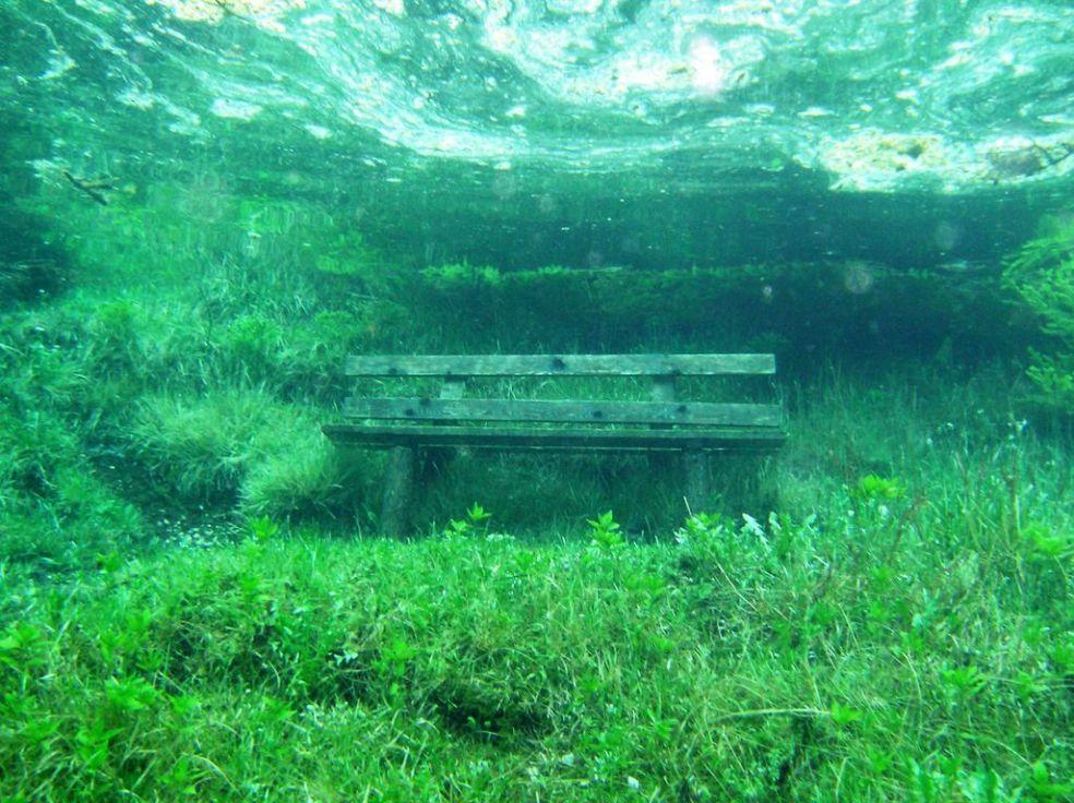 Призрачный парк Зеленого озера